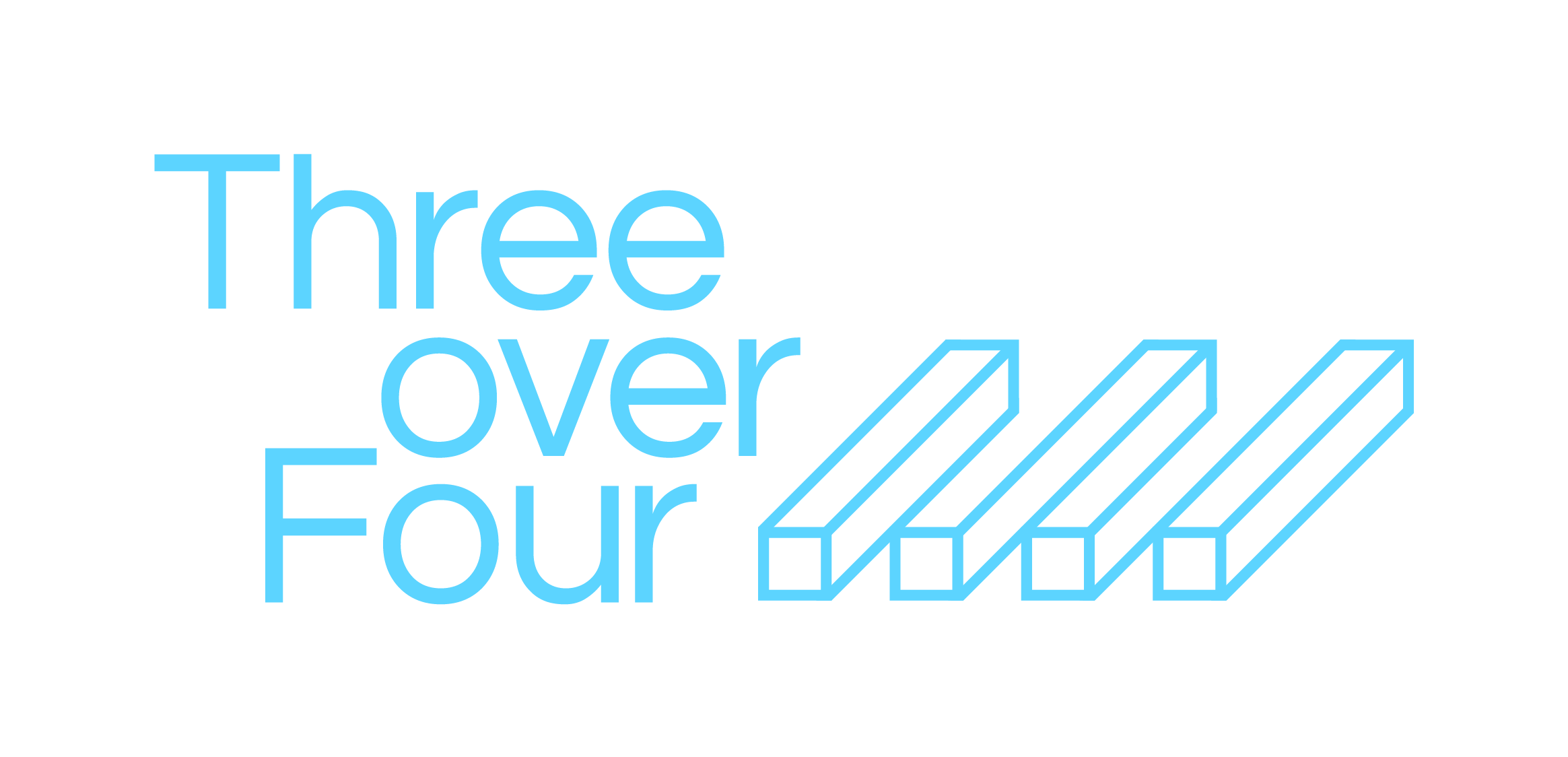 Three Over Four Logo